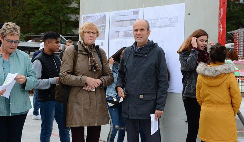 Grundsteinlegung Neubau des Leonardo-da-Vinci-Gymnasiums