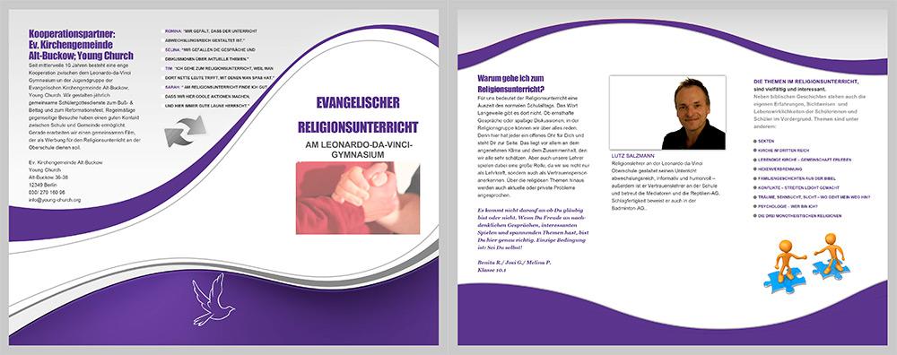 Religionsunterricht Flyer 2020